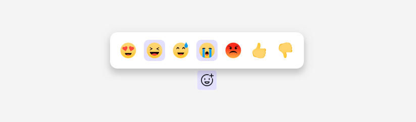Two methods of adding emoji are shown.
